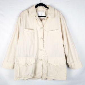 LONDON FOG Ladies, A-Line, Mini Trench/Raincoat XL